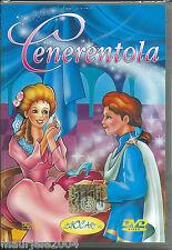 Cenerentola (2003) DVD NUOVO SIGILLATO cartoni animati De Agostini