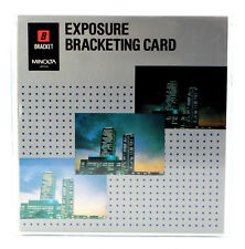 MINOLTA Chip Karte EXPOSURE BRACKETING CARD für DYNAX 700si 7000i 8000i 7xi 9xi