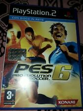 pes 6 pro Evolution soccer per PlayStation 2 PAL ITA