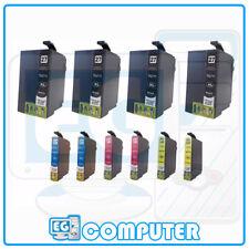 KIT 10 CARTUCCE EPSON T2711 T2712 T2713 T2714 XL WF-7610DWF