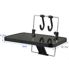 Portable Car Inner Laptop Computer Food Folding Desk Black Color