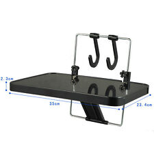 Portable Car Inner Laptop Computer Food Desk Folding Desk Black