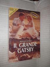 IL GRANDE GATSBY Francis Scott Fitzgerald Noi 1990 romanzo libro narrativa di