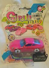 Real Toy Limited Girlie Rides Pink Porsche Carrera #15100 Die-cast Scale 1:64 BN