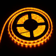 Yellow 5050 SMD 5M 300leds Waterproof  Flexible LED Strip Tape Light Lamp DC 12V