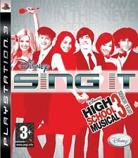 Disney Sing It: High School Musical 3 Senior Year (PS3) NEW SEALED SOLUS