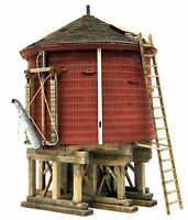BANTA 2156 HO RICO WATER TANK Model Railroad Laser Cut Wood Kit FREE SHIP