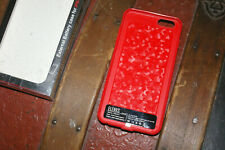 Red ELENXS 2800 mAh External Battery Power Bank Charger Case For iPhone 6/6S