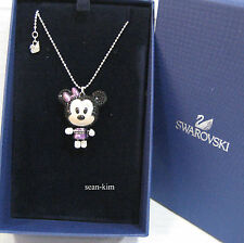 Swarovski 3D Minnie Cuties Pendant Disney Mouse Crystal Authentic MIB - 1126550