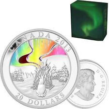 2013 Fine Silver Hologram Coin - A Story of the Northern Lights: The Great Hare