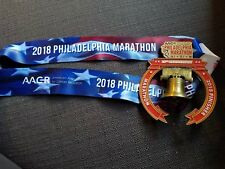 2018 25th anniversary Philadelphia Marathon Finishers Medal