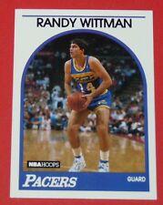 # 238 RANDY WITTMAN INDIANA PACERS INDIANAPOLIS 1989 NBA HOOPS BASKETBALL CARD
