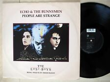 """Echo & The Bunnymen People Are Strange UK 12"""" EastWest YZ 567T VG+"""