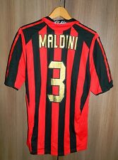 Paolo MALDINI #3 AC Milan Home Football Shirt Jersey 2005 06 RARE  Size L Soccer