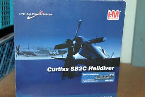HOBBYMASTER 1:72 CURTISS SB2C HELLDIVER - USS ESSEX 1945 HA2207