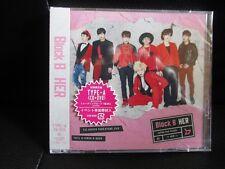 K-POP Block B HER TYPE A (CD+DVD) w/photo card plus bonus photo