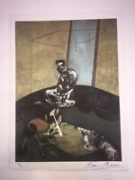 Francis Bacon - Litografia offset - George Dyer Staring at  Blind Cord - 1966