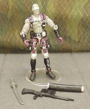 GI JOE vs Cobra gray Snake Eyes v13 ninja commando 2002 action figure