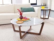 Design coffee table marble top