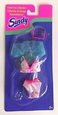 Hasbro 1996 Sindy Doll Travel Fun Collection Outfit Set #18586 Set Number 1
