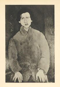 """Amedeo Modigliani """"Le peintre Soutine"""""""