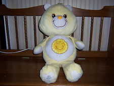 """Jumbo Care Bear Funshine Bear 25th Anniversary 25"""" Plush 2007 TCFC JAKKS E"""