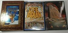 Monty Python and the Holy Grail & Meaning of Life & Life of Brian 3 DVD Lot