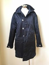 NEW MENS AJ ARMANI JEANS NAVY PARKA COAT JACKET SIZE 50 M 100% AUTHENTIC