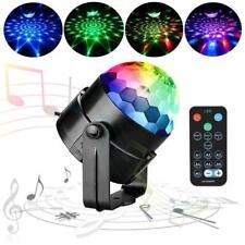 Dj Disco LED Light Strobe Sound Colorful Ball Party Dance Light RGB Decro 6W 5V