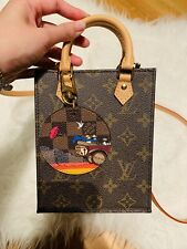 Lv Louis Vuitton Petit Sac Plat Brand New Full Set