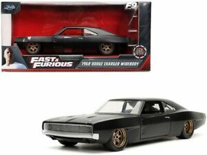 1:24 Dom's 1968 Dodge Charger Widebody - Fast & Furious 9 -- JADA