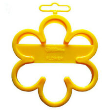 "Wilton Flower Yellow Biscuit Cookie Cutter 3.5"" New Cooking Chef Aid"