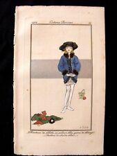 Suzanne SesboueCostumes Parisiens 1912 Manteau de fillette  pl 34