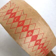 Pilfer Proof Tape 8� Roll Vtg Mid Century Packing Gift Diamond Wall Paper