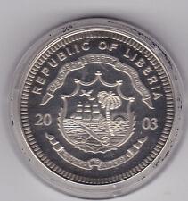 5 Dollars Liberia 2003 Olympiade Athen 2004
