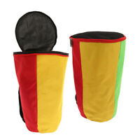 Pack of 2 Durable&Comfortable 13&12 Inch African Drum Gig Bag Padded Bags