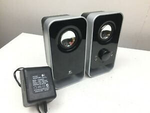 Logitech - LS11 - 2.0 Stereo Speaker System - PC Computer Speakers - Good Cond
