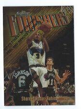 Shareef Abdur-Rahim Grizzlies 1997-98 Topps Finest Finishers Rare Card
