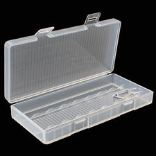 Plastic Case Battery Storing Hard Holder Storage Box for 8 x AA Batteries
