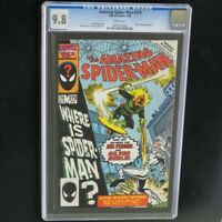 Amazing Spider-Man #279 🔥 CGC 9.8 White Pages 🔥 Silver Sable Marvel Comic 1986