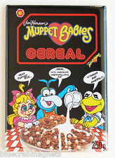 Muppet Babies Cereal FRIDGE MAGNET (2 x 3 inches) box tv show kermit miss piggy