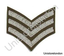 Chevron Sergeant Stripes Future Army Dress FAD Military Rank 3 Bars R802