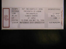 1996 AVP Indianapolis Open Pro Beach Volleyball Ticket Karch Kiraly Win (SKU1)