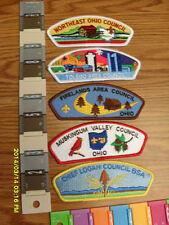 BSA Patch: Mint=NIP=BSA COUNCIL PATCHES AS SHOWN...................CSTORE4MORE!!