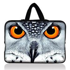 "Owl Design 15.6"" 15.5 inch 15"" Mac Macbook Pro Sleeve Case Carry Bag Notebook C0"