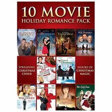 10 Movie Holiday Romance Pack (DVD, 2013, 3-Disc Set)