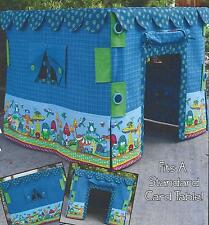 Card Table Play House quilt pattern by Whistlepig Creek Productions