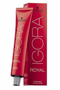 Schwarzkopf IGORA Permanent Hair Color 60ml NIB - Choose your Shade