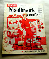 Vtg 1962-63 NEEDLEWORK & Crafts McCall's MAGAZINE Make 251 Items To Use, Give...