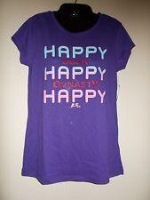 Duck Dynasty Happy Happy NWT TShirt JR's M!FREE FAST SHIP!!